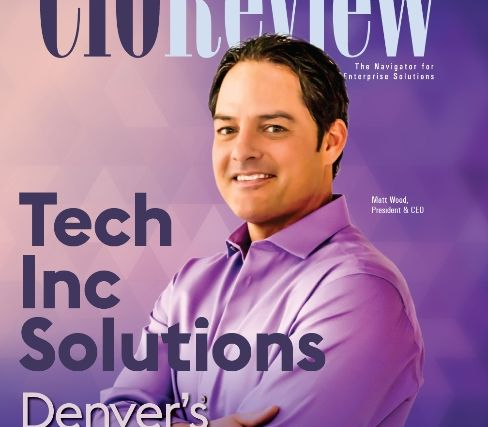 Headshot of Matt Wood on the cover for CIO Review